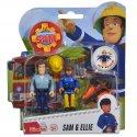 Simba Figurki Strażak Sam Sam i Ellie z akcesoriami
