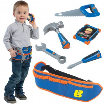 Pas z narzędziami dla dzieci SMOBY - Bob Budowniczy