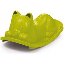Smoby Bujak Kotek Zielony huśtawka