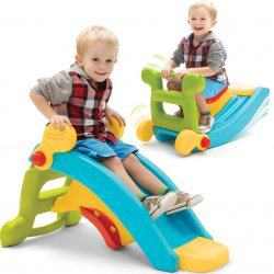 Fisher Price Zjeżdżalnia i Bujak 2w1 Slide to Rocker