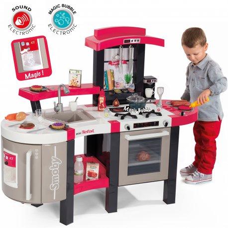 Zabawki Na Upalne Dni Kuchnia Dla Dzieci Elektroniczna Smoby Minitefal 46 Akcesoriów