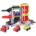 Tor wyścigowy Garaż Smoby Ecoiffier + 4 autka