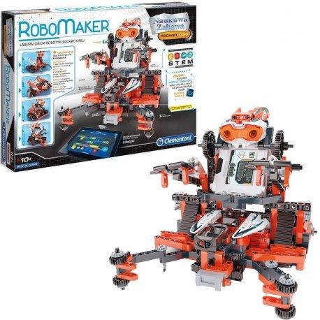 Clementoni ROBOT ROBOMAKER PROGRAMOWANY LABORATORIUM ROBOTYKI