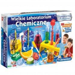 CLEMENTONI WIELKIE LABORATORIUM CHEMICZNE 180 DOŚWIADCZEŃ