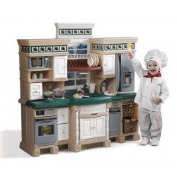 STEP2 Duża Stylowa Interaktywna Kuchnia Akcesoria kuchenne