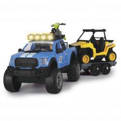 Zestaw trzech pojazdów Dickie Samochód terenowy, Quad terenowy, Motor