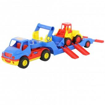Samochód Laweta ConsTruck Wader QT + koparka