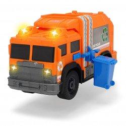 Śmieciarka pomarańczowa Dickie