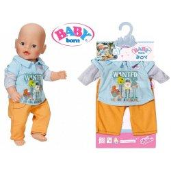 Baby Born Ubranko Komplet kolekcja chłopięca Braciszek baby Born