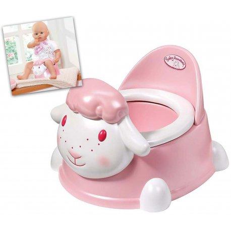 BABY BORN ANNABELL Nocnik z dźwiękiem dla lalki Baby Annabell