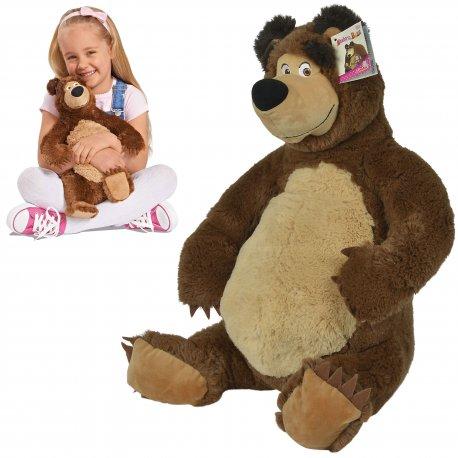 Zabawki Na Upalne Dni Pluszowy Niedźwiedź Misza 50 Cm Simba Masza I Niedźwiedź Maskotka Pluszak