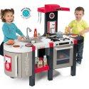 Kuchnia Smoby Deluxe Bubble ELEKTRONICZNA 44 akc Tefal dla dzieci Duża