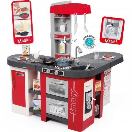 Smoby Magiczna Duza Kuchnia Elektroniczna 38 Akcesoriow Tefal Studio