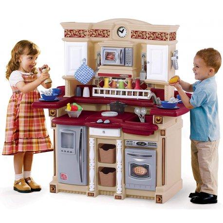 Zabawki Na Upalne Dni Kuchnia Interaktywna Party Kuchenka Step2 Z Oświetleniem