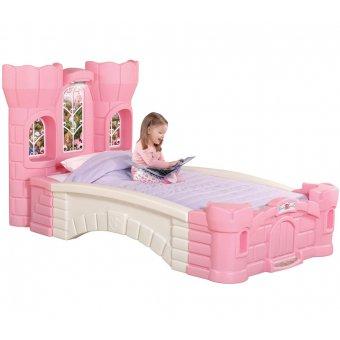 STEP2 Duże Łóżko dla dziewczynki Zamek