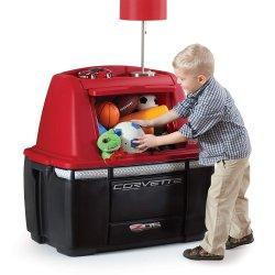 STEP2 Pojemnik na zabawki Corvette Dresser czerwony + czarny