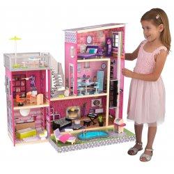 KidKraft Domek dla lalek de luxe Rezydencja ze światłem i dźwiękiem dla Barbie