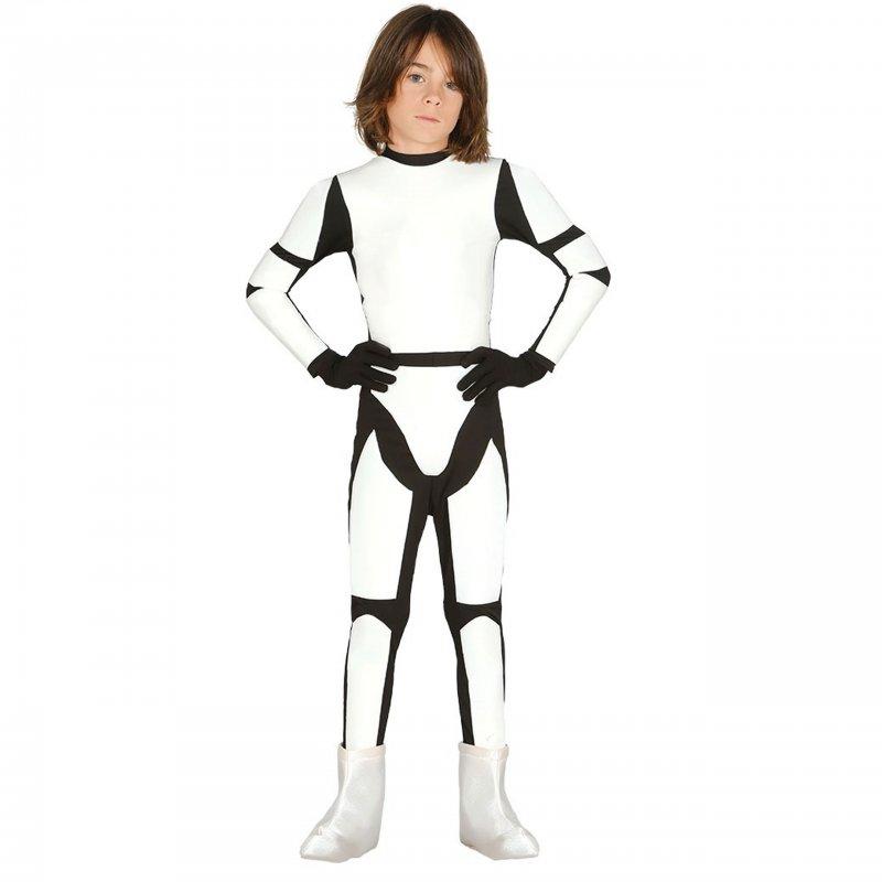 7a56b9eba85e9e ... Strój Szturmowiec Star Wars Gwiezdne Wojny Klon Kombinezon + Kask dla dziecka  122-134cm ...