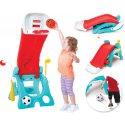 Fisher Price 6w1 plac zabaw dla dzieci zjeżdżalnia koszykówka