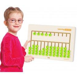Sensoryczna tablica Nauka Alfabetu drewniana Viga Toys