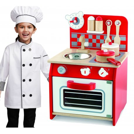 Kuchnia Drewniana Dla Dzieci Z Akcesoriami Viga Toys Brykaczepl Sklep Z Zabawkami