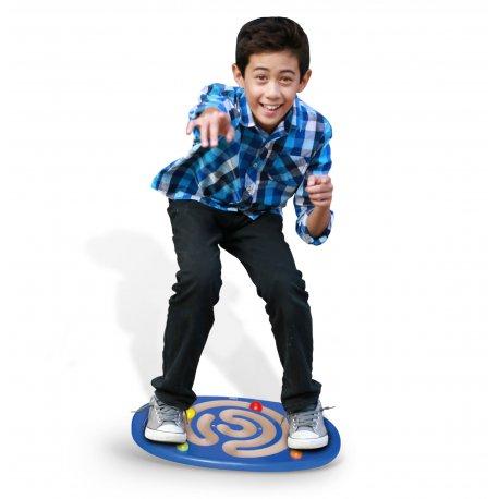 Sensoryczna Drewniana Deska do balansowania z labiryntem Viga Toys