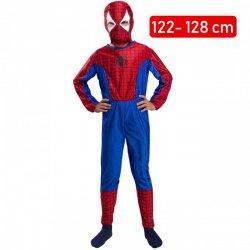 b675236fd9139a Strój Spiderman Kostium Przebranie Człowiek Pająk Maska dla dziecka  110-116cm