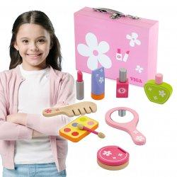 Zestaw do makijażu drewniany Salon Piękności Viga Toys