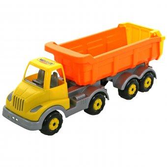 Ciężarówka wywrotka z naczepą Wader QT