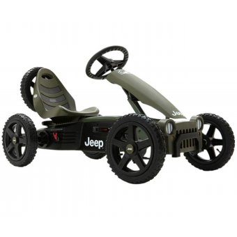 BERG Gokart Jeep® Adventure BFR Pompowane koła 4-12 lat do 60 kg