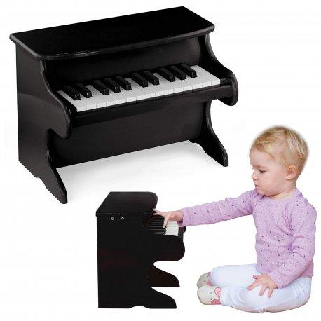 Moje pierwsze pianinko Viga czarne