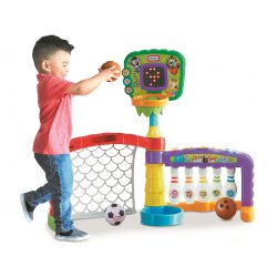 Little Tikes Centrum sportowe 3w1
