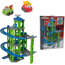 Garaż samochodowy 5 poziomowy dla dzieci Majorette + Autko