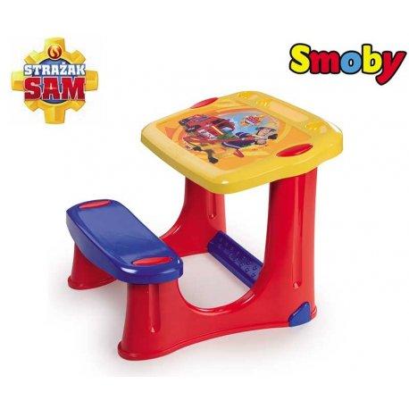 SMOBY Stolik z ławeczką Strażak Sam