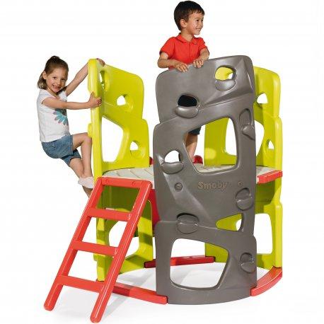 Wieża Wspinaczkowa Smoby Zjeżdżalnia Plac Zabaw