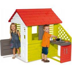 Nature Domek Smoby Dla Dzieci z Kuchnią