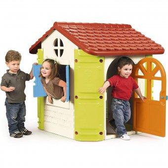Duży Domek dla Dzieci Ogrodowy Feber z Grillem