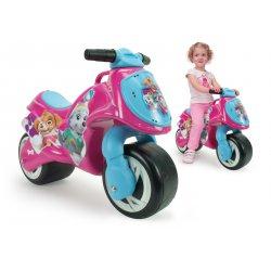 Injusa Różowy Jeździk motocykl Neox Psi Patrol