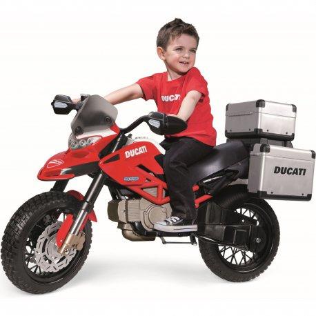 Ducati Enduro Motor na akumulator 12V dla dzieci Peg Perego