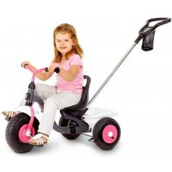 Kettler Rowerek Trzykołowy Ciche Koła regulacja wysokości Różowy