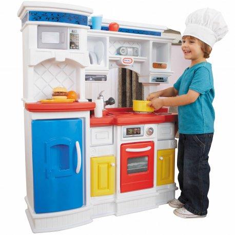 Kuchnia Kącik Smakosza Dla Dzieci Dźwięki 17 Akc Little Tikes Brykaczepl Sklep Z Zabawkami