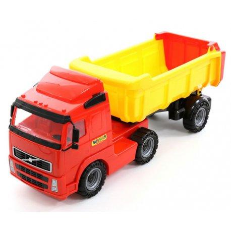 WADER Gigant Duża Ciężarówka Wywrotka 59cm XXL