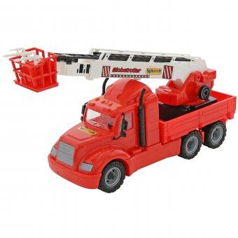 WADER Gigant Straż Pożarna Ciężarówka Dźwig