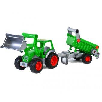 Traktor Ładowarka Gigant z wywrotką Wader QT
