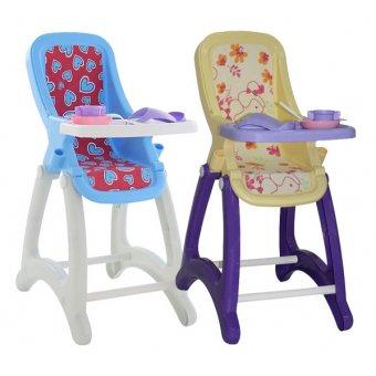 Krzesełko dla lalek do Karmienia Śliniaczek Akcesoria