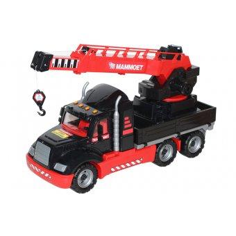 Wader QT Mammoet Dźwig Ciężarówka Żuraw obrotowy 82 cm