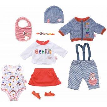 Zestaw ubrań dla Baby Born 9 el spódniczka spodenki