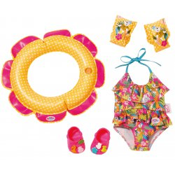 Zestaw Kąpielowy Baby Born dla lalki 43 cm