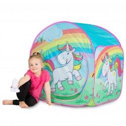 NAMIOT Baśniowy Domek dla dzieci + Świecący Jednorożec John