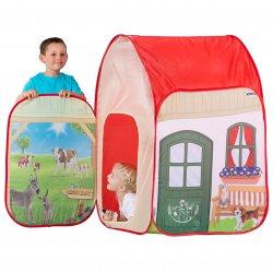 NAMIOT Domek Farma dla dzieci + Figurka Krowy Schleich John